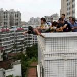 Sheng Fi from Zhanjiang (Guangdong) trying to suicide