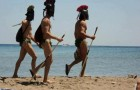 Spartans came out of nowhere in greek island of Rhodes
