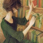 Through The Pages oil painting