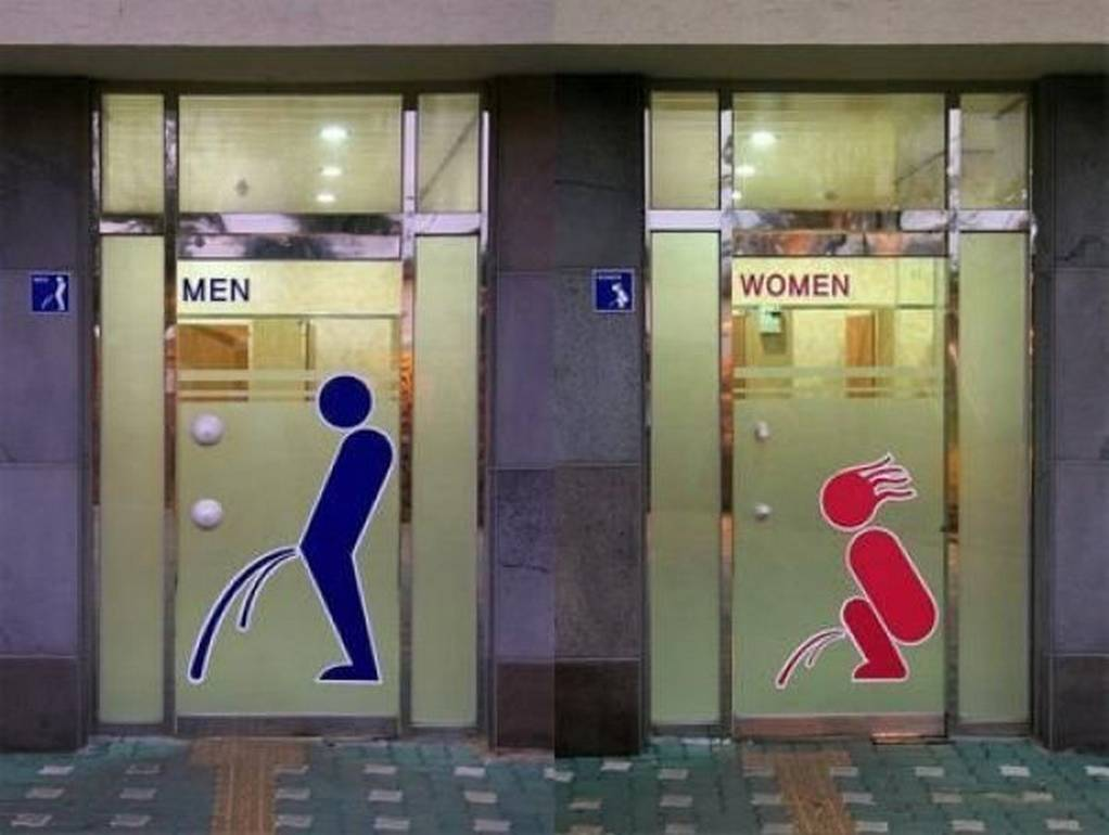 Most funny toilet sign
