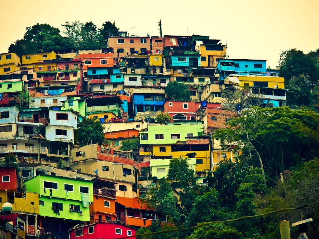 Colored Houses In Venezuela Hiddenroom