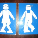 toilet sign in Bula Bula South Africa