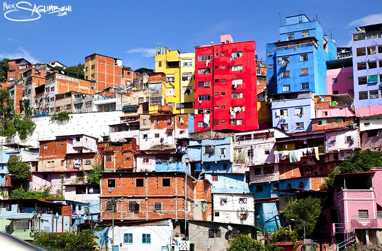Venezuela Colored Houses