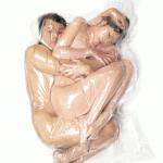 Yumeko and Eisuke from Flesh Love project by Haruhiko Kawaguchi