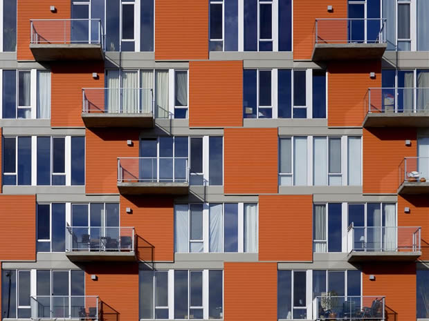 M9 development multifunctional social housing in Cite du Multimedia Montreal by Sid Lee Architecture
