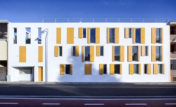 Social Housing in Elmas by 2+1 officina architettura