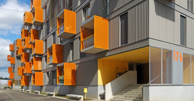 Social housing settlement Poljane at Maribor, Slovenia by Bevk Perovic Architects