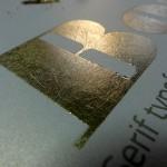 bodoni silkscreen print preparation 11