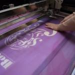 bodoni silkscreen print preparation 2