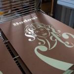 bodoni silkscreen print preparation 5