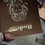bodoni silkscreen print preparation 6