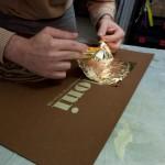 bodoni silkscreen print preparation 7
