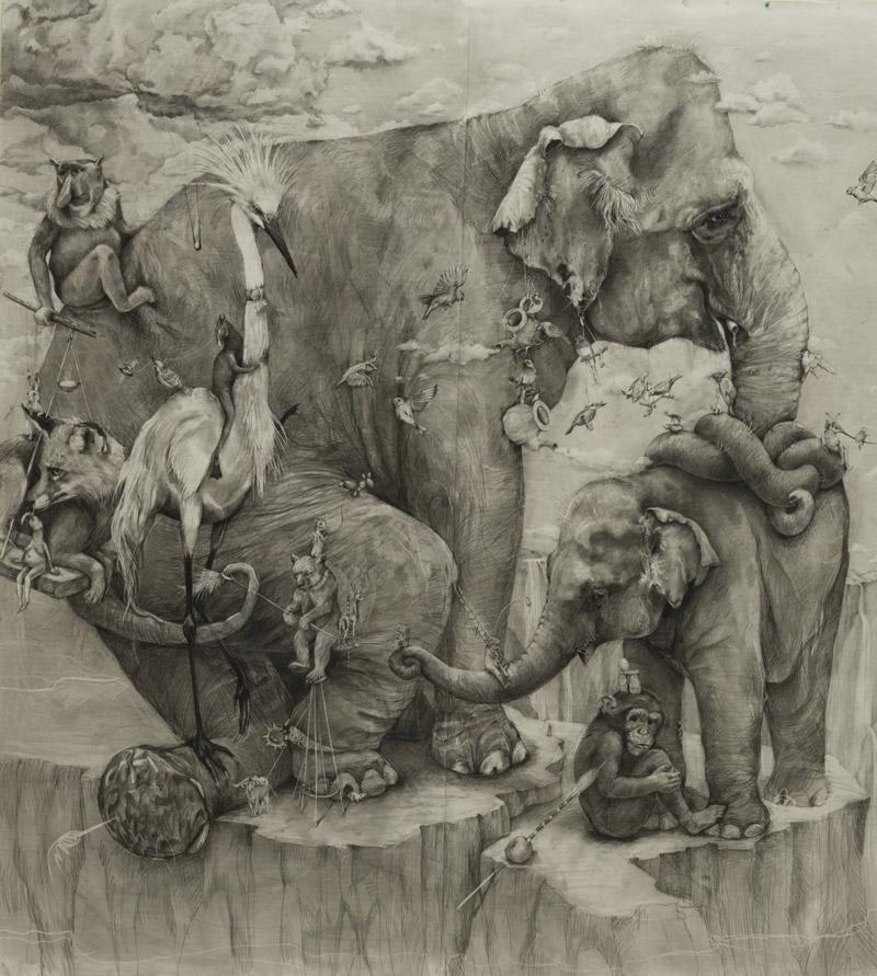 Elephants by Adonna Khare 3