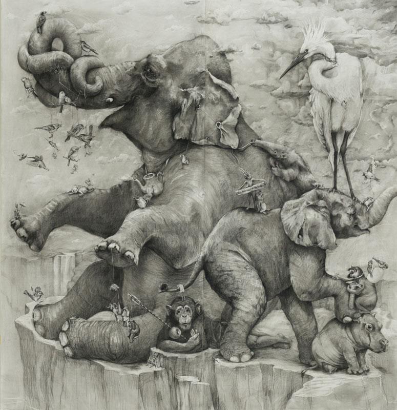 Elephants by Adonna Khare 7