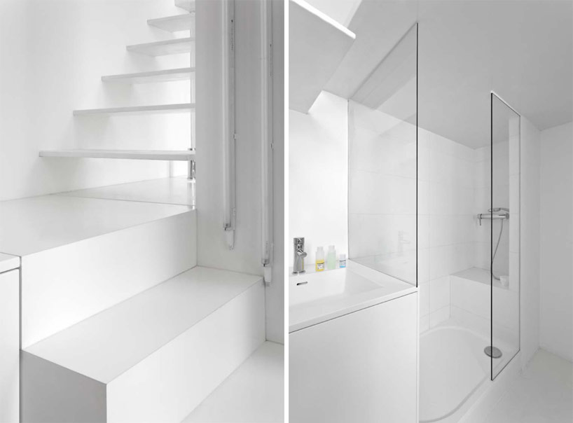 Spectral Apartment, shower and stair interaction