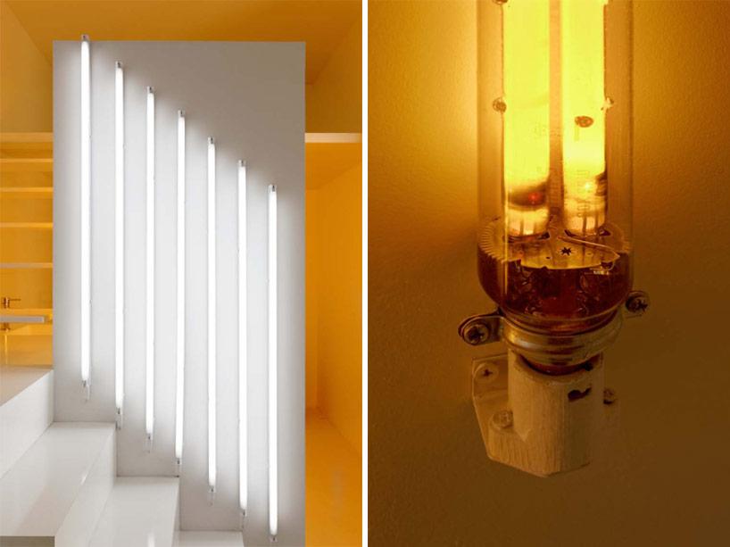 Spectral Apartment, magic monochrome light bulds