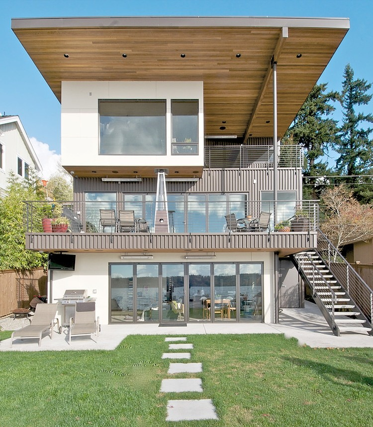 Kirkland Residence Remodeling exterior view