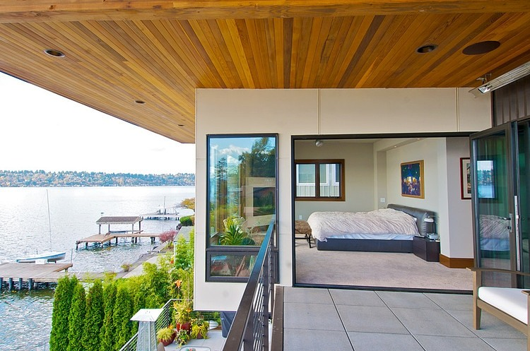 Kirkland Residence Remodeling sea view from the balcony
