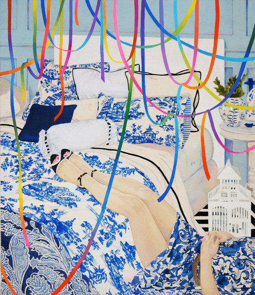 Boredom by Naomi Okubo Painting 2013