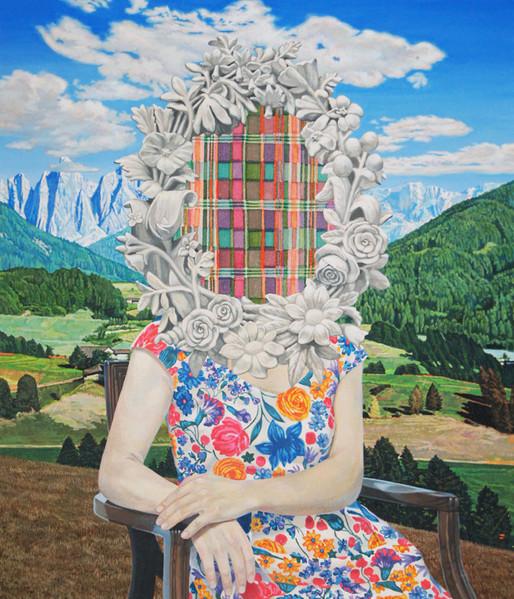 Portrait by Naomi Okubo Painting 2013