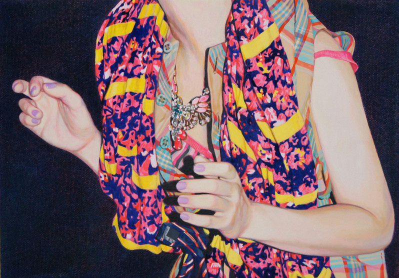 The Ghost by Naomi Okubo Painting 2013