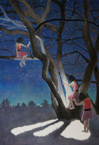 Until Day Break by Naomi Okubo Painting 2013