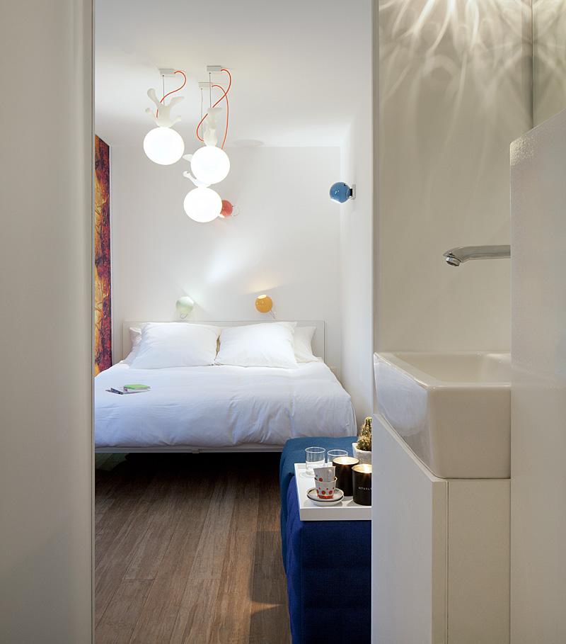 Sleeping Around Pop Up Hotel Bedroom