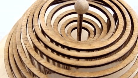 Dean O'Callaghan's Handcrafted Structure That Mimics The Raindrop Effect Hitting Water thumb