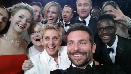 oscars selfie ellen degeneres