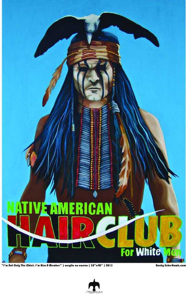 I'm not only the chief I'm also a member 2013 by bunky echo-hawk