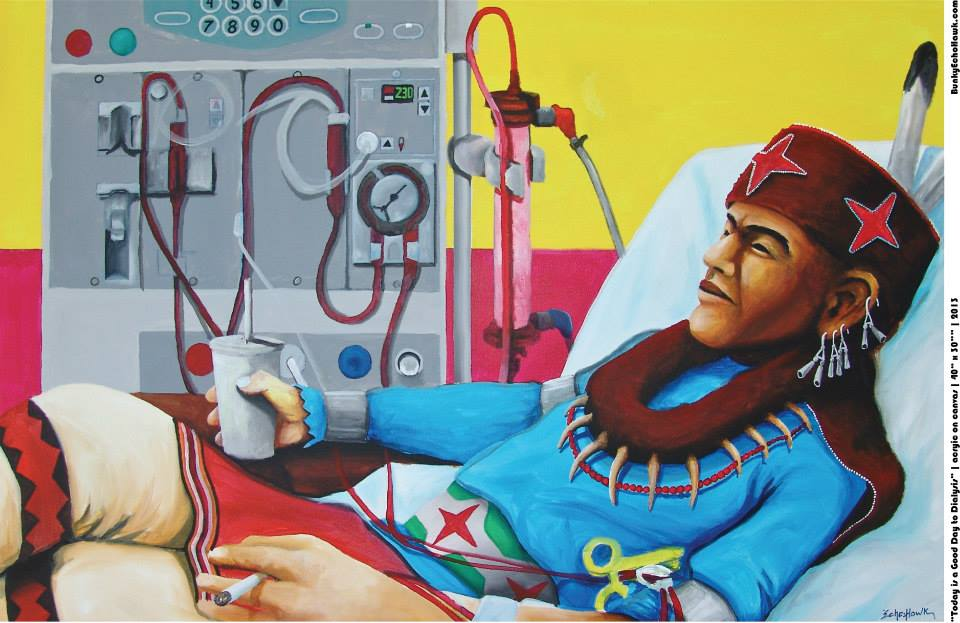 today is a good day to dialysis 2013 by bunky echo-hawk